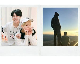 BTS Group Polaroids
