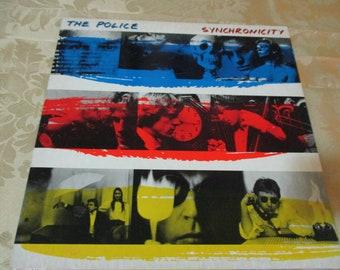 Vintage 1983 LP Record The Police Synchronicity Near Mint Condition Rare Purple Translucent Vinyl 16341