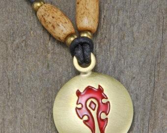 World of Warcraft Horde Necklace