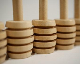 Wooden Honey Dipper/Drizzler