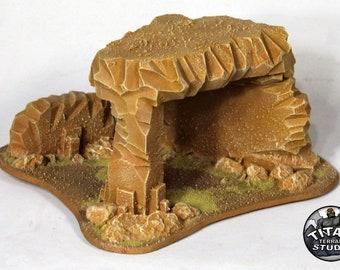 Desert 40k Small Ruin - Variation B