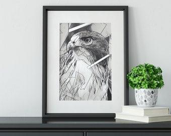 Fine Art Print Graphite Sketch Drawing--Eureka in The Breakthrough Series (7 of 8)