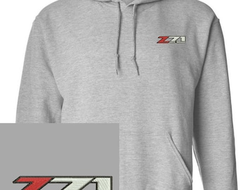 Z71 silverado Embroidered Gray Hoodie Pullover Hooded Sweatshirt New