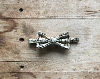 Simply Me • Gentlemen ~ Boy's Bow Tie ~ Bow Tie ~ Tree Stumps/Wood ~ Brown and Neutral Colored ~ Gift ~ Wedding ~ Kidswear