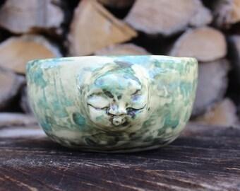 Handmade bowl, ceramic bowl, one of a kind bowl, serving bowl, safe for food, perfect gift, ceramic serving bowl, tableware, ethno bowl