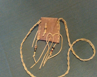 Suede Leather Crossbody Bag