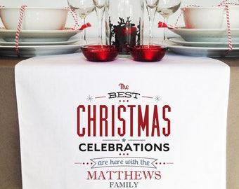 Celebrations Christmas Table Runner