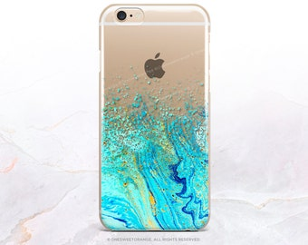 iPhone 8 Case iPhone X Case iPhone 7 Case Splatter Clear GRIP Rubber Case iPhone 7 Plus Clear Case iPhone SE Case Samsung S8 Plus Case U148
