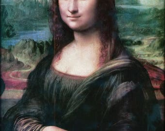 Poster, Many Sizes Available; Mona Lisa Restored
