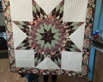 Lone Star Beauty Quilted Wall Hanging