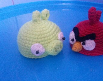 Angry birds eggs hat, easter decor eggs.