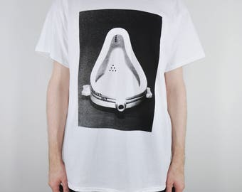 Duchamp 'Fountain' Tee