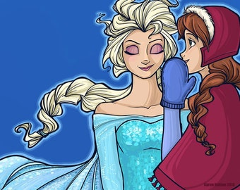 The Untold Story of the Daughters of Arendelle Large Print (Item 03-313-CC)