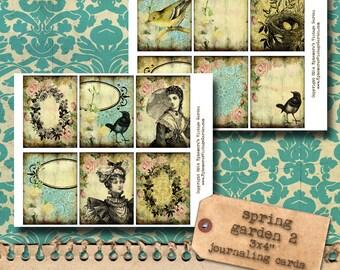 Spring Garden Journaling Cards