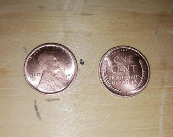 1909-S VDB Penny Lincoln Wheat Cent Reproduction Pennies US Coins Copy Coin