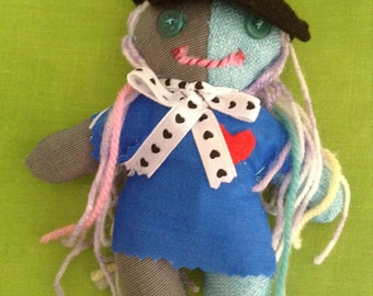 Art doll #12 - Free delivery to the UK