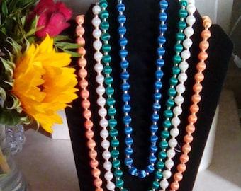 Beautiful Silk Bead Necklace