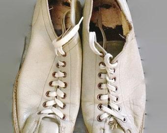 bowling shoes Vintage Brunswick  grey mens 7.