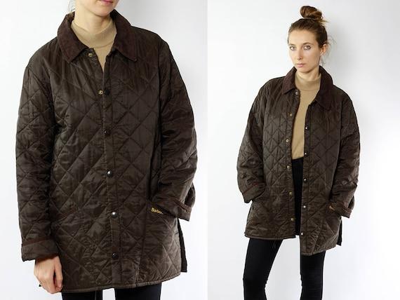 Barbour Jacket / Quilted Barbour Coat / Barbour Jacket Quilted / Quilted Coat / Barbour Coat / Coat Barbour / Jacket Barbour / Brown Coat