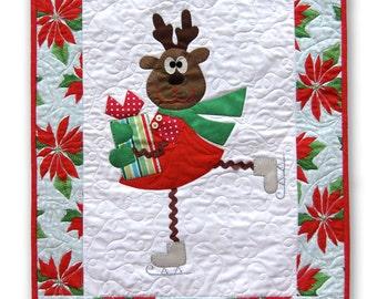 Fa la la la la, A whimsical Christmas wall hanging.
