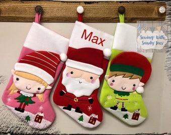 Christmas Stocking, Christmas, Stocking, Personalized Christmas Stocking, Personalized, Christmas Stockings, Embroidered Stocking, Monogram