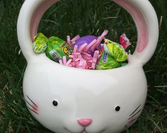 Cute bunny basket