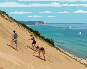 Michigan - Sleeping Bear Dunes (Art Prints available in multiple sizes)