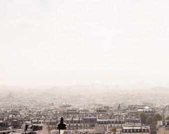 Paris Photograph, Paris Cityscape, Paris Print, Paris Photography, Paris Decor, Fine Art Photography, Paris Wall Art, Paris Bedroom Decor