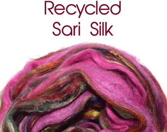 SARI SILK - Recycled - multi-coloured / Pink - 25g/0.88oz