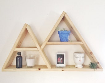 Mountain Shelf // Triangle Shelf