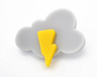 Cute Little Cloud brooch