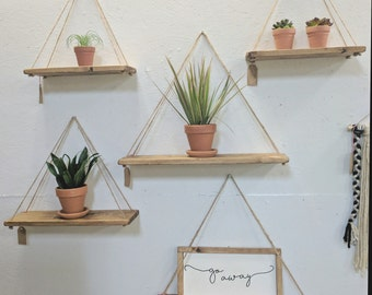 "Hanging Shelves - 14"" & 18"""