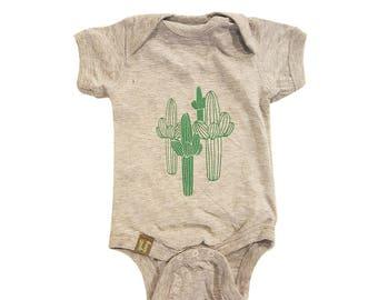 Saguaro ) Infant Fine Jersey Onesie