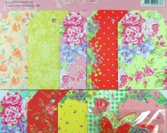Gift Tags, Fabric, 31 Piece Set (368)