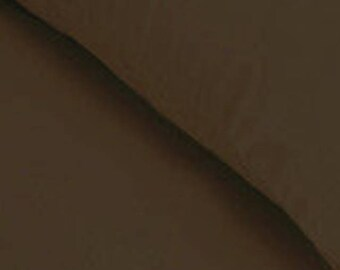 200cm x 130cm weighted blanket brown cotton/beige brushed cotton