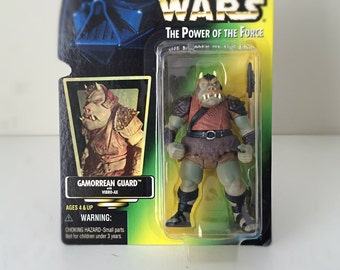 Star Wars Gift for Men, Star Wars Toy, Star Wars Gift Kids, Gamorrean Guard Action Figure, Gift for Star Wars Lover, 90s Toys,