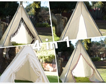S Ultimate toddler teepee/photo prop teepees in one/ Kids play tent/ baby teepee photo prop