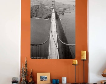 Golden Gate Bridge Photographic Wall Decal - #60874