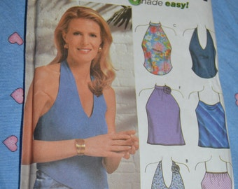 Simplicity 9697  Misses Tops Sewing Pattern - UNCUT - Size 14 16 18 20