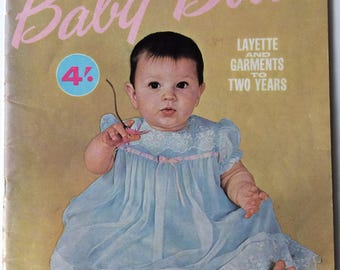Enid Gilchrist's Baby Book - vintage sewing booklet - layette and garments to 2 years