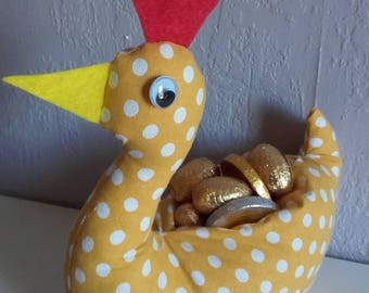 Easter chicken to fill with chocolate or not!