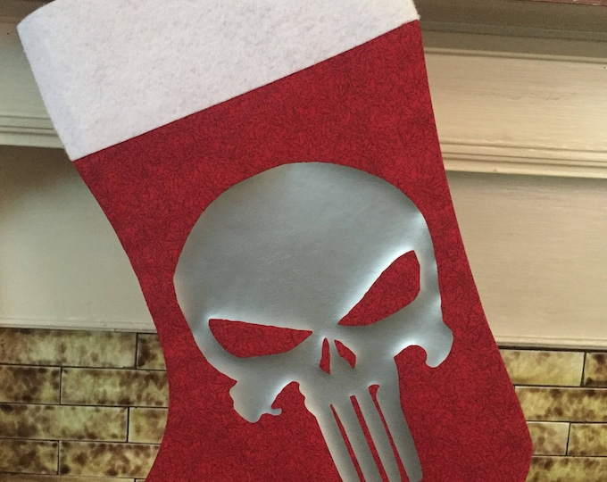 Punisher Holiday Stocking