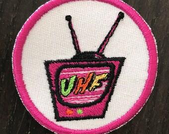 "UHF TV Patch - ""Weird"" Al Yankovic 80's Movie"