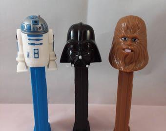 Star Wars Pez Trio
