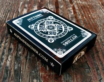 Mythos Quadricolor Special Edition Poker Deck by Alphadesigner