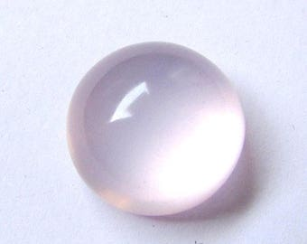 1 Pcs 17mm Natural ROSE Quartz Round Cabochon AAA Quality gemstone.....