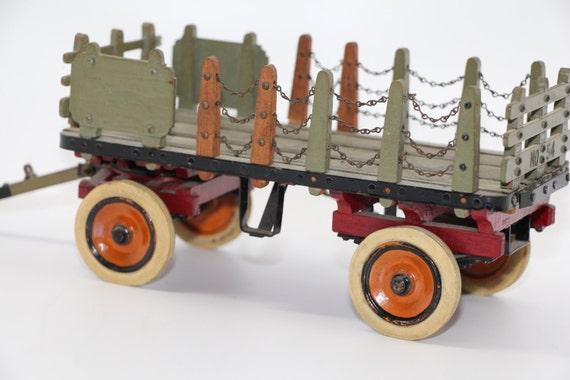 Vintage National Tea Company Stake Wagon