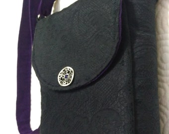 Concealed Carry Mini Messenger Crossbody Purse Pattern