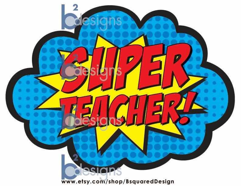 Super Teacher 2 signs INSTANT DOWNLOAD