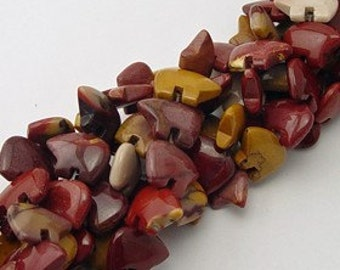 Six Mookaite Zuni Style Bear Fetish Beads Pink Purple Mustard Yellow Maroon Mauve Brick red Cranberry Merlot Wine Southwestern Animal Totem